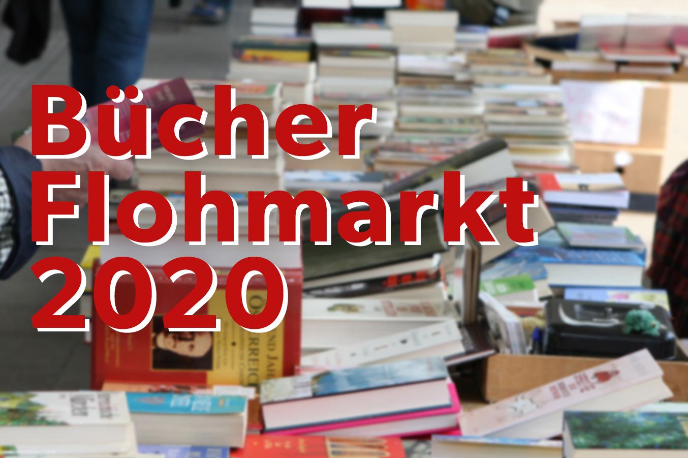 Vorbereitungen für den Bücherflohmarkt 2020