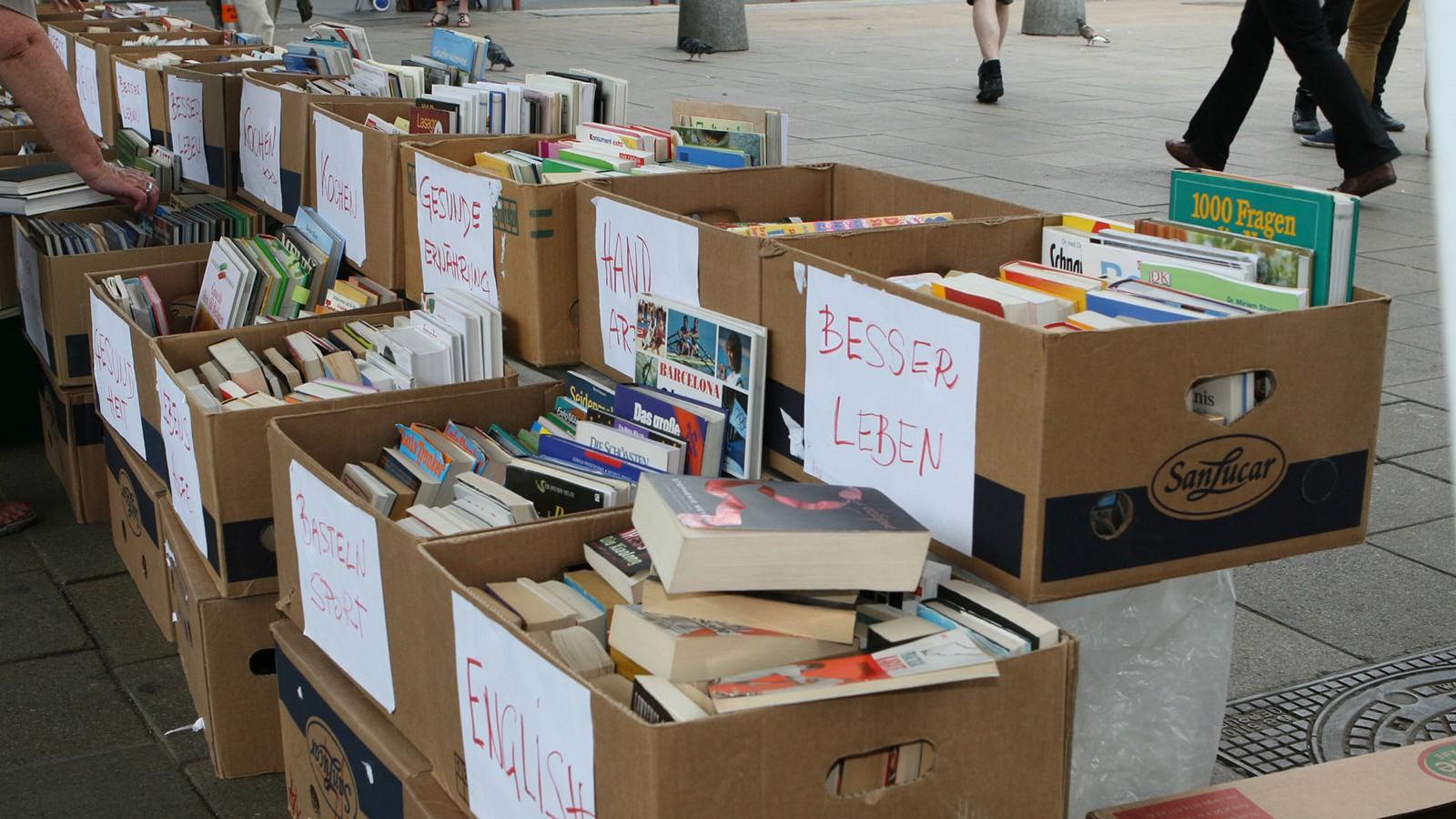 Bücher spenden Wien: Gebrauchte Bücher für einen guten Zweck