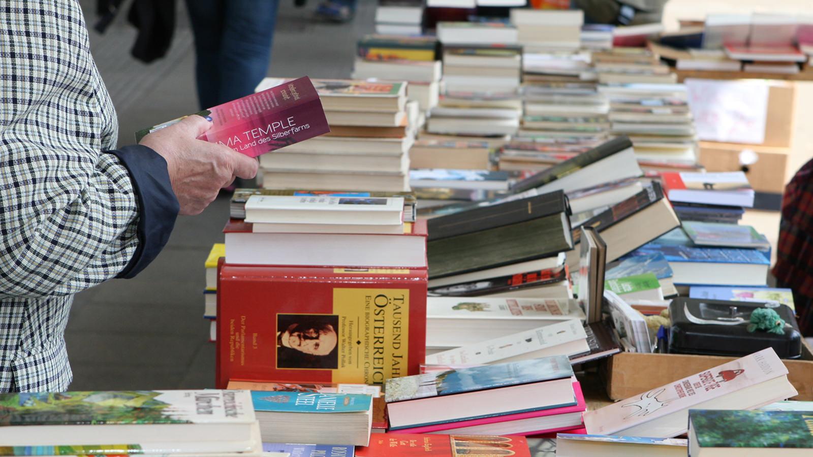 2020: Heuer kein Bücherflohmarkt mehr